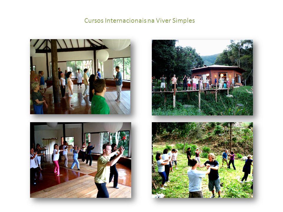 Cursos Internacionais na Viver Simples