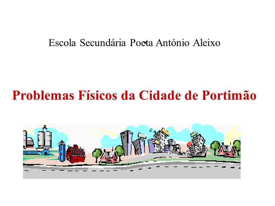 Escola Secundária Poeta António Aleixo Problemas Físicos da Cidade de Portimão