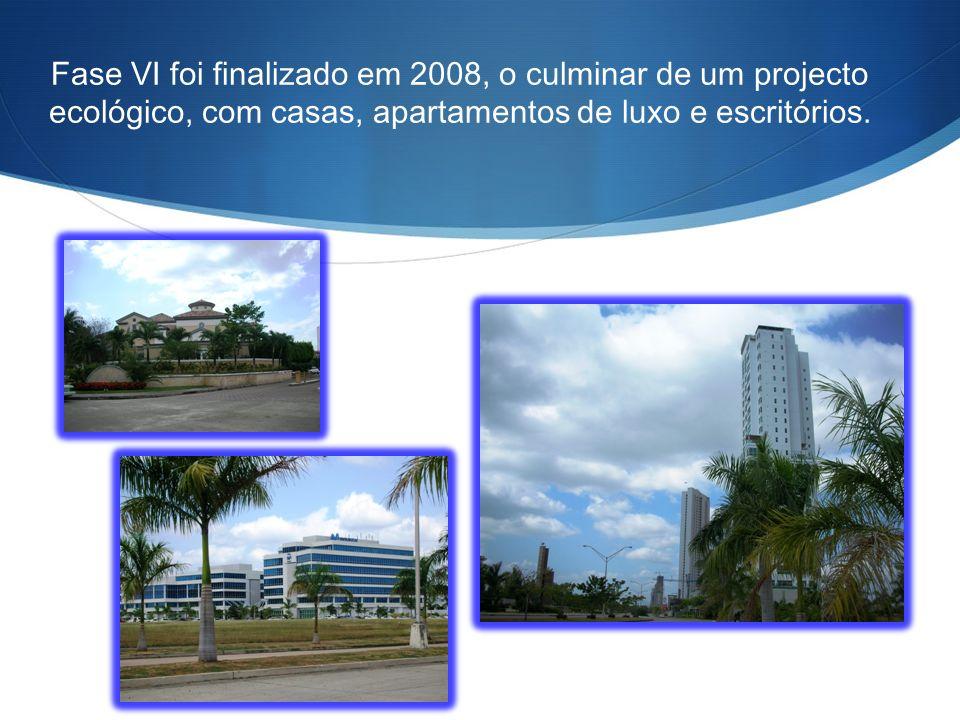 Fase VI foi finalizado em 2008, o culminar de um projecto ecológico, com casas, apartamentos de luxo e escritórios.