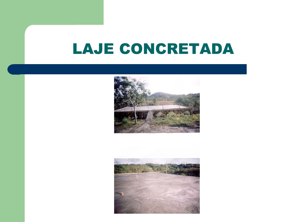 LAJE CONCRETADA