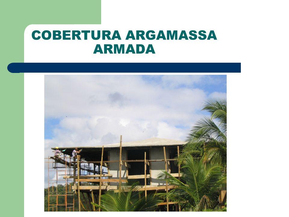 COBERTURA ARGAMASSA ARMADA