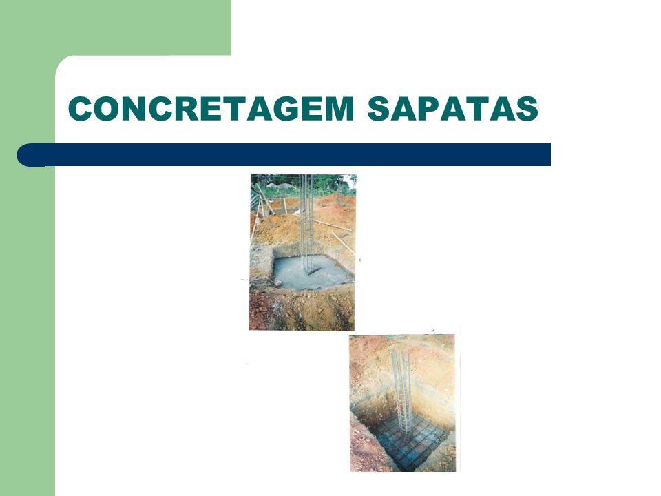 CONCRETAGEM SAPATAS