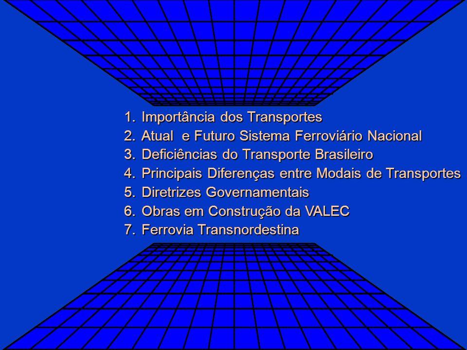 VALEC Ministério dos Transportes VALEC – DADOS INSTITUCIONAIS A VALEC Engenharia, Construções e Ferrovias é uma empresa pública, sob a forma de socied