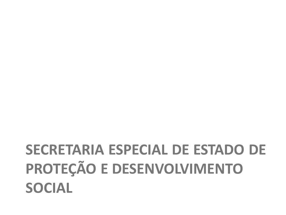 42 Copyright © 2010 Symnetics – Todos os direitos reservados SECRETARIA ESPECIAL DE ESTADO DE PROTEÇÃO E DESENVOLVIMENTO SOCIAL