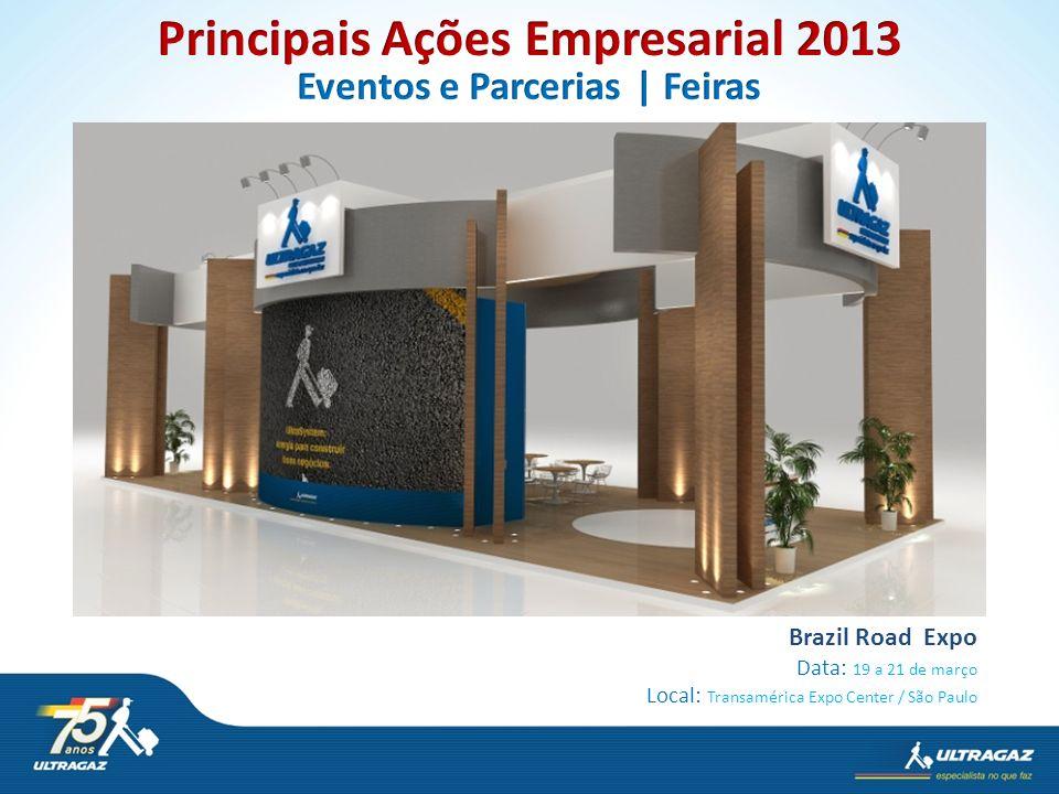 Brazil Road Expo Data: 19 a 21 de março Local: Transamérica Expo Center / São Paulo