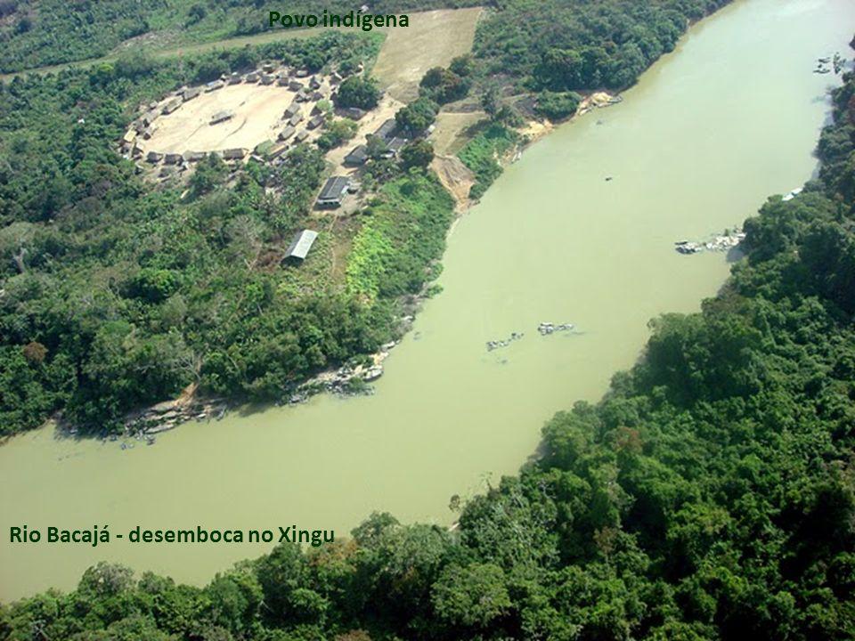 Rio Bacajá - desemboca no Xingu Povo indígena