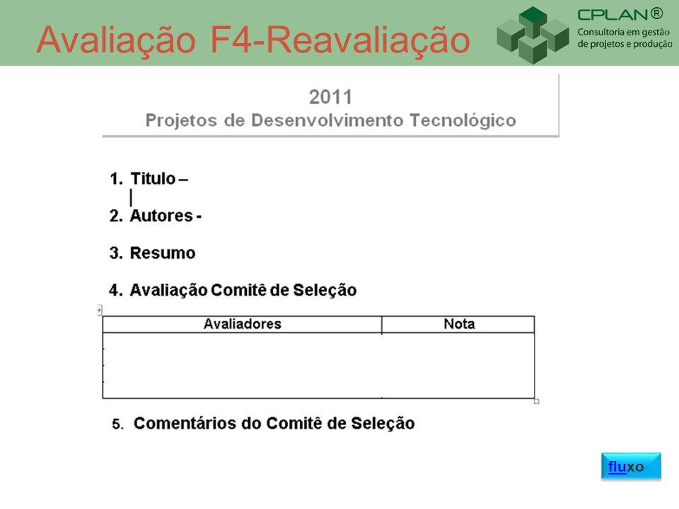 ® Avaliação F4-Reavaliação fluxo fluxo