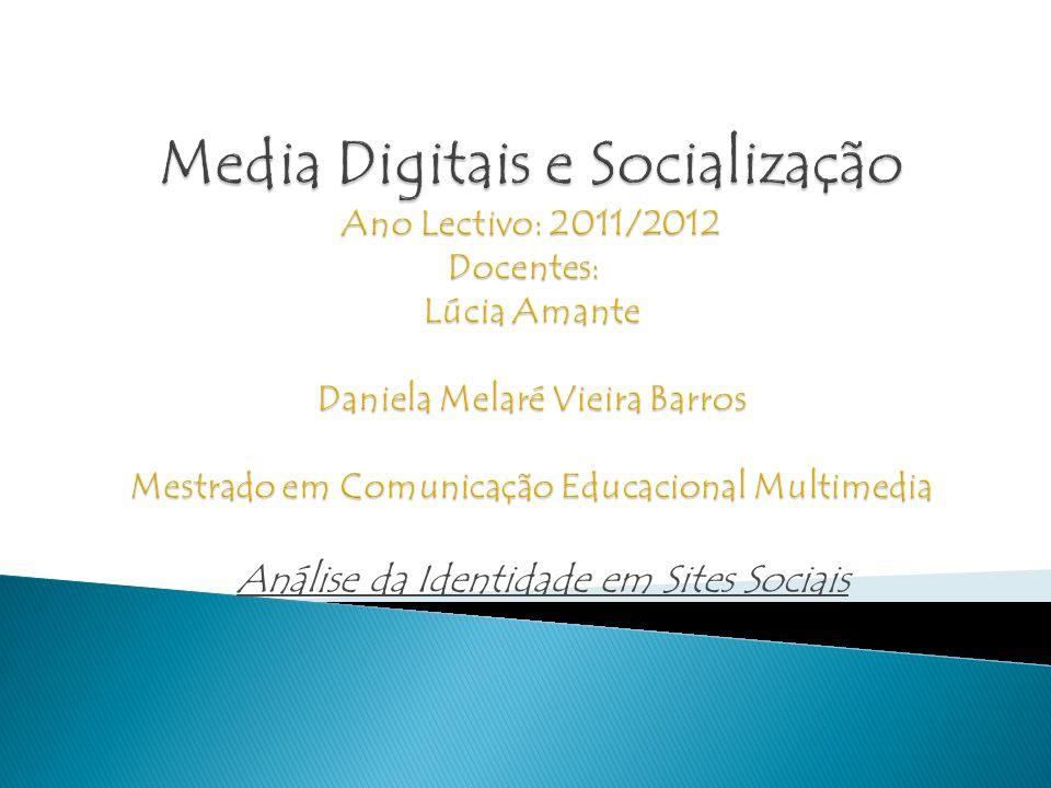 Análise da Identidade em Sites Sociais