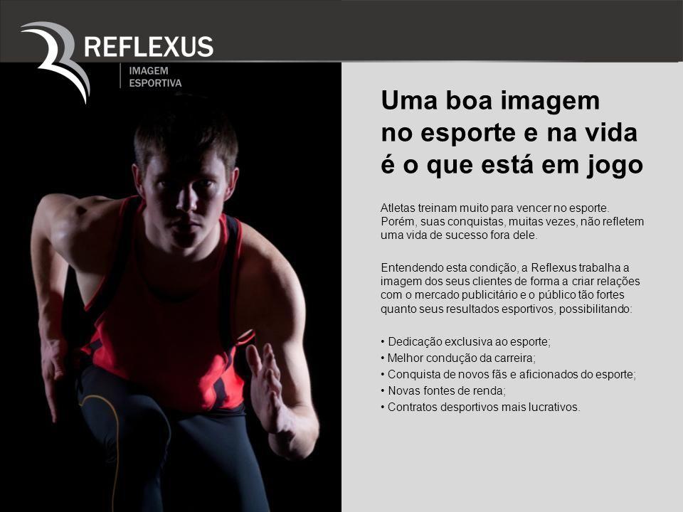 O atleta como marca de sucesso A imagem de um atleta é muito semelhante a construção de uma marca.