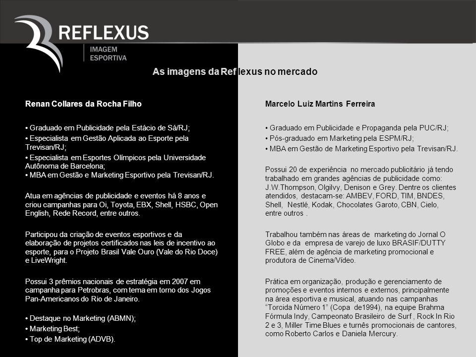 As imagens da Ref lexus no mercado Marcelo Luiz Martins Ferreira Graduado em Publicidade e Propaganda pela PUC/RJ; Pós-graduado em Marketing pela ESPM