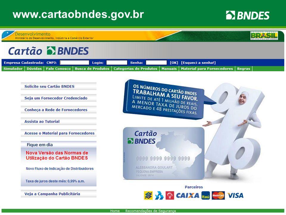 Limite de até R$ 1 milhão, por banco emissor; Prestações fixas em até 48 meses; Taxa de juros atrativa: 1% a.m.