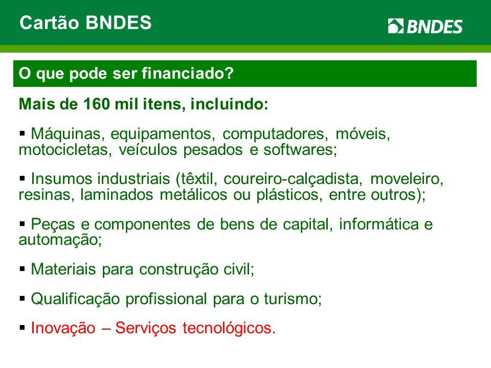 www.bndes.gov.br Canais de comunicação Cartão BNDES 0800 702 6337 www.cartaobndes.gov.br Operações Indiretas (21) 2172-8800 desco@bndes.gov.br Atendimento Empresarial (21) 2172-8888 www.bndes.gov.br/faleconosco Ouvidoria 0800 702 6307 www.bndes.gov.br/ouvidoria