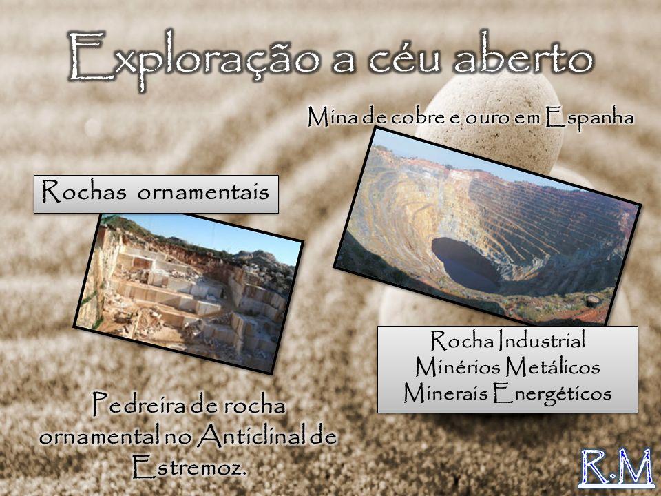Rochas ornamentais Rocha Industrial Minérios Metálicos Minerais Energéticos Rocha Industrial Minérios Metálicos Minerais Energéticos