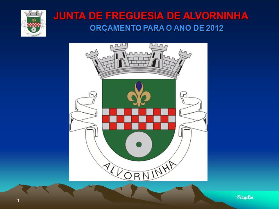 JUNTA DE FREGUESIA DE ALVORNINHA ORÇAMENTO PARA O ANO DE 2012 Virgílio 1