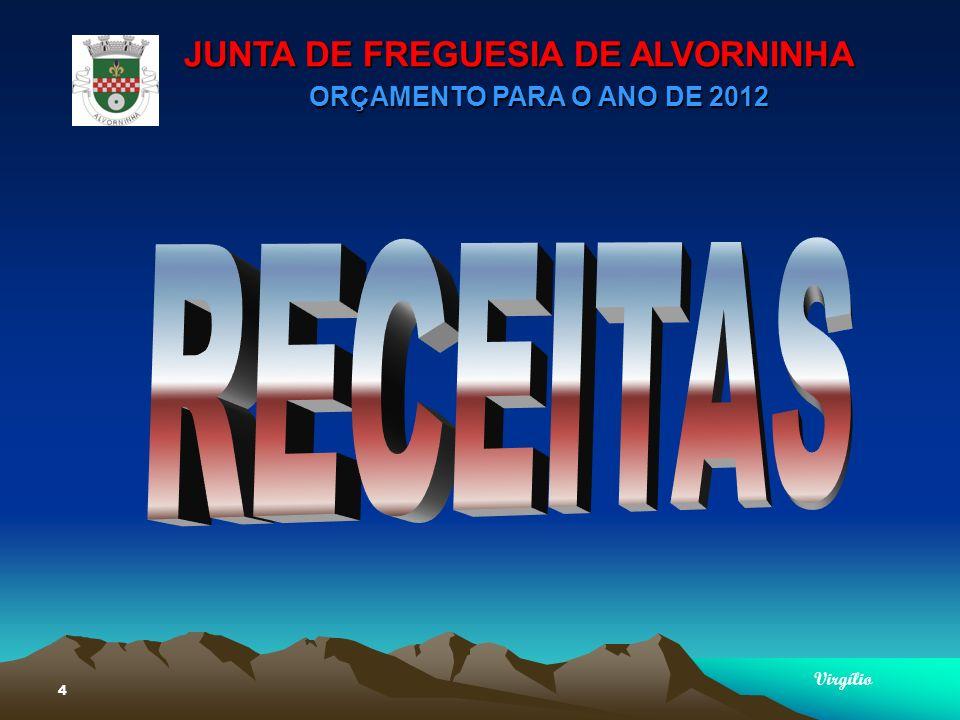 JUNTA DE FREGUESIA DE ALVORNINHA ORÇAMENTO PARA O ANO DE 2012 Virgílio 15