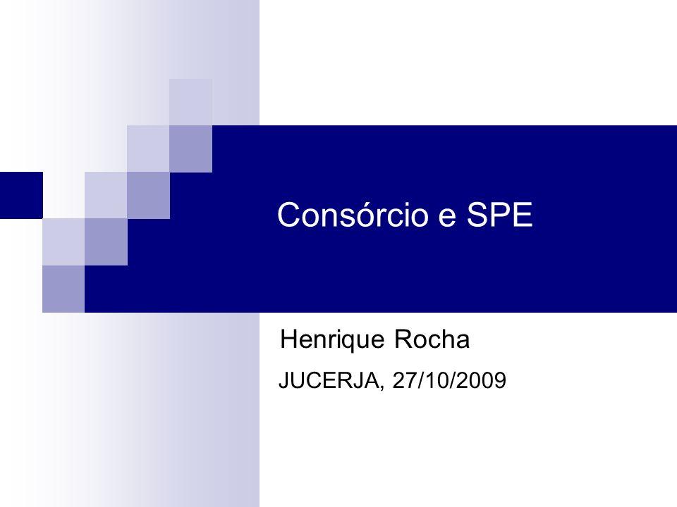 Consórcio e SPE Henrique Rocha JUCERJA, 27/10/2009