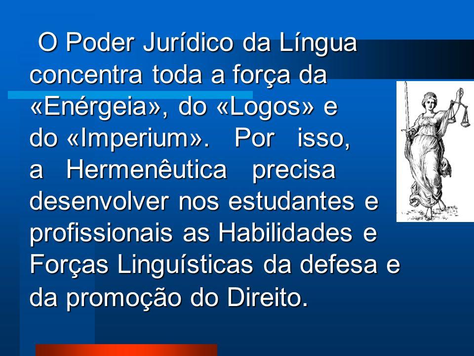 As FORÇAS IMPERATIVAS DA SENTENÇA são produzidas pelas seguintes palavras: