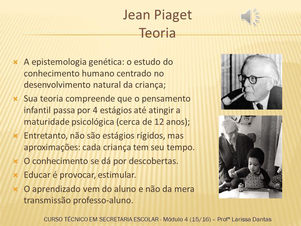 Jean Piaget Biografia Nasceu em 1896; Jean Piaget foi um epistemólogo suíço, com formação na área das ciências e psicologia, considerado o um dos mais importantes pensadores do século XX.