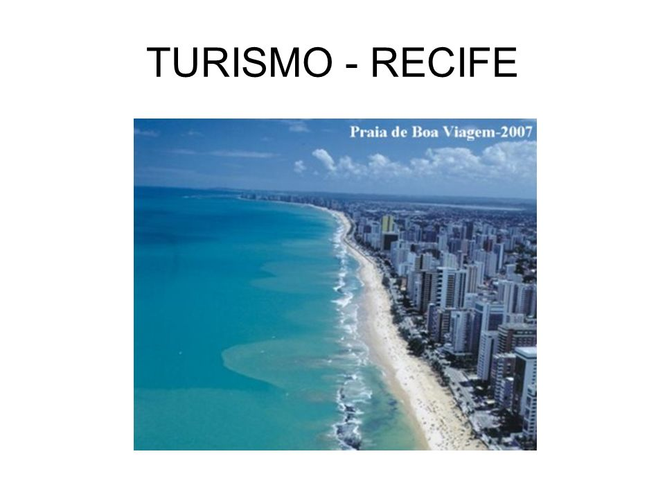 TURISMO - RECIFE