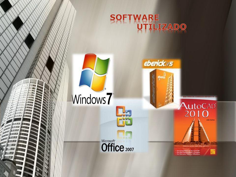 Windows 7 Windows 7 Office Office Auto-Cad 2007 Auto-Cad 2007 E-mail E-mail 4 Computadores ligados em rede 4 Computadores ligados em rede Máquina fotográfica digital Máquina fotográfica digital Impressora de grande formato Impressora de grande formato Impressora normal A4 e A3 Impressora normal A4 e A3 Programas de cálculo especifico de construção Programas de cálculo especifico de construção