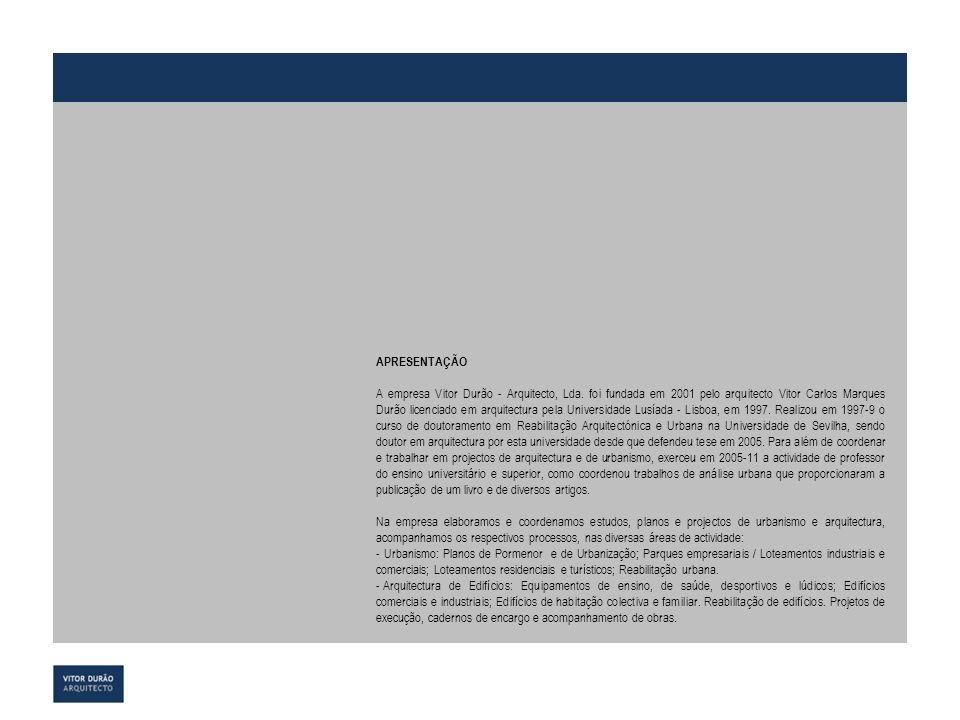 ANEXO TRABALHOS DA EMPRESA PUBLICAÇÕES VITOR DURÃO ARQUITECTO