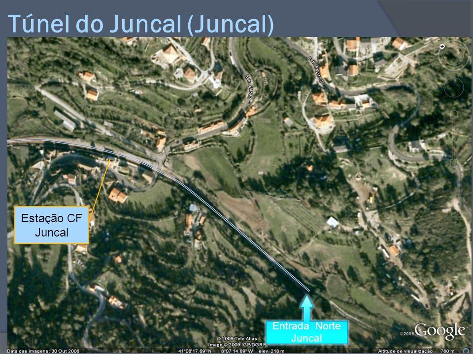 Túnel do Juncal (Juncal) Estação CF Juncal Entrada Norte Juncal