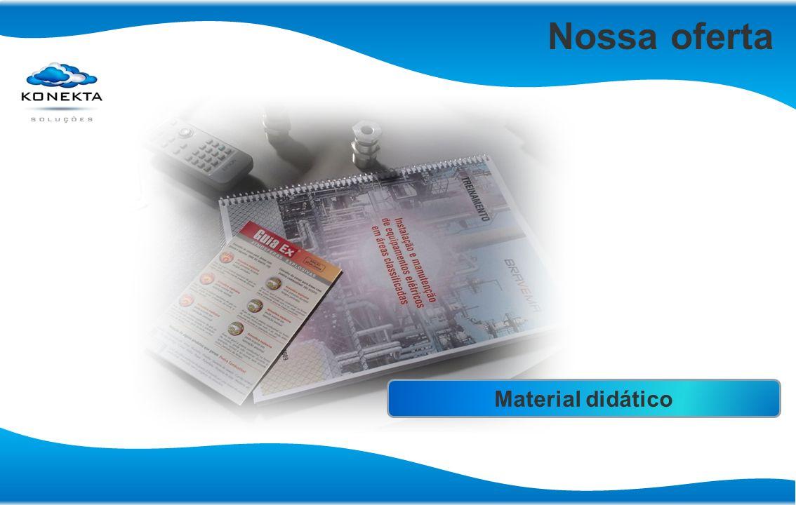 Nossa oferta Certificados reconhecidos nacionalmente