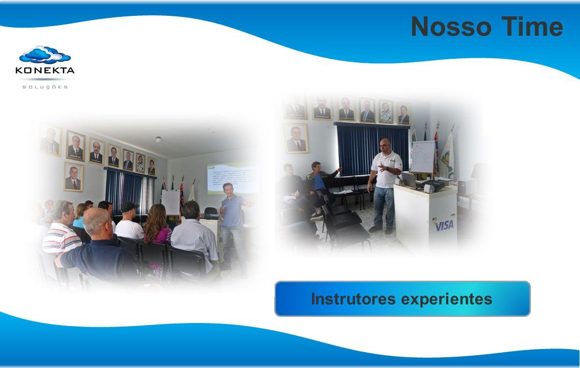 Nosso Time Instrutores experientes