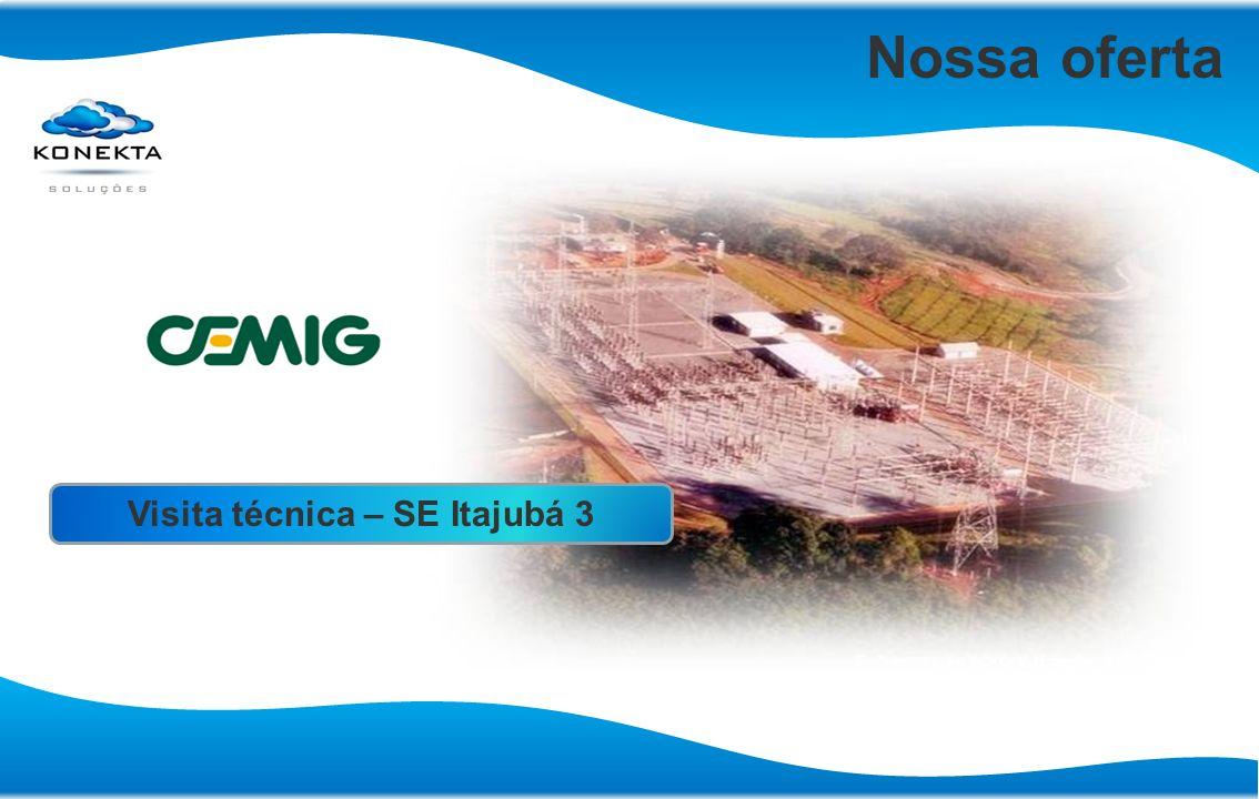 Nossa oferta Visita técnica – SE Itajubá 3