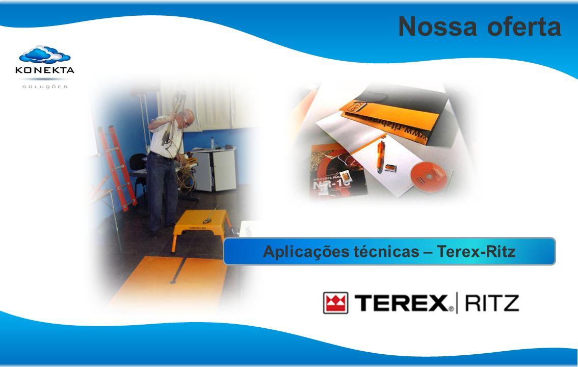 Nossa oferta Aplicações técnicas – Terex-Ritz