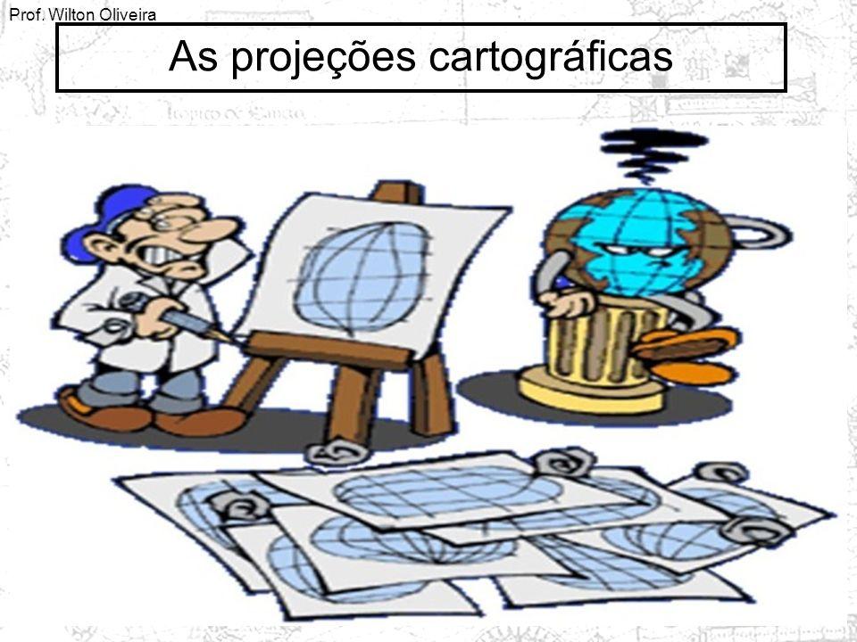 As projeções cartográficas