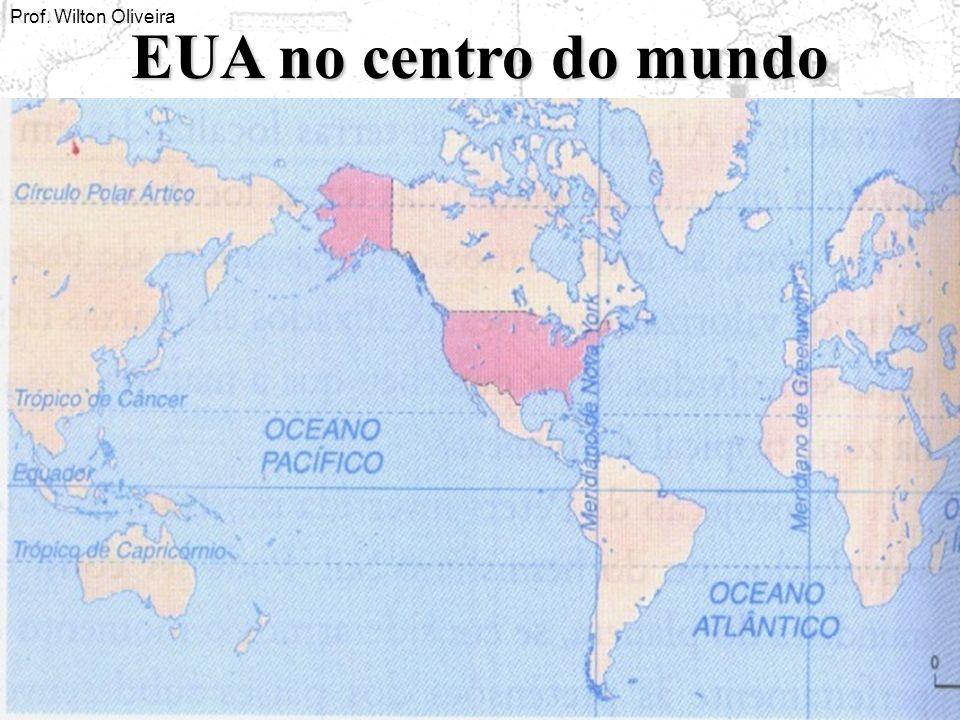 Prof. Wilton Oliveira EUA no centro do mundo