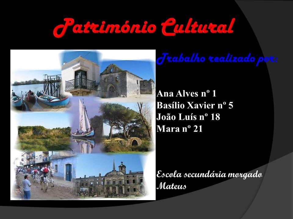 Trabalho realizado por: Ana Alves nº 1 Basílio Xavier nº 5 João Luís nº 18 Mara nº 21 Escola secundária morgado Mateus