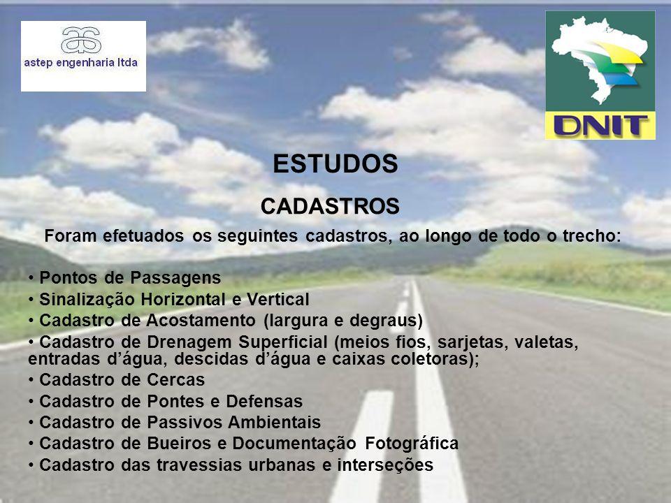 PROJETO PROJETO DE RESTAURAÇÃO DO PAVIMENTO SEGMENTO 01 Foto 01 – Est.