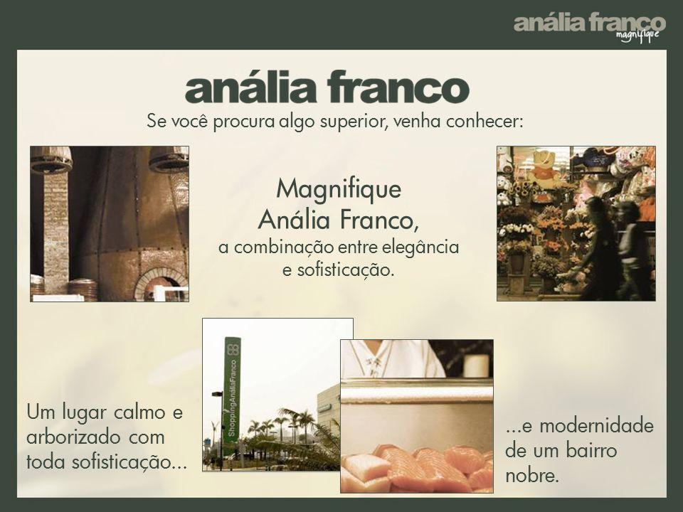 Um lugar calmo e arborizado com toda sofisticação... Magnifique Anália Franco, a combinação entre elegância e sofisticação. Se você procura algo super