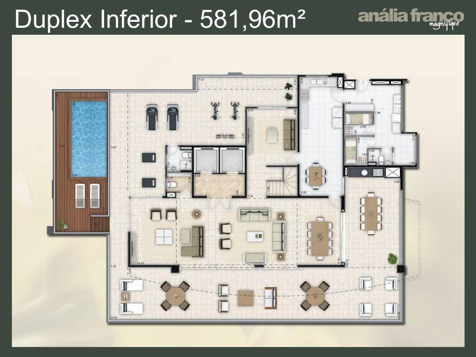 Duplex Inferior - 581,96m²