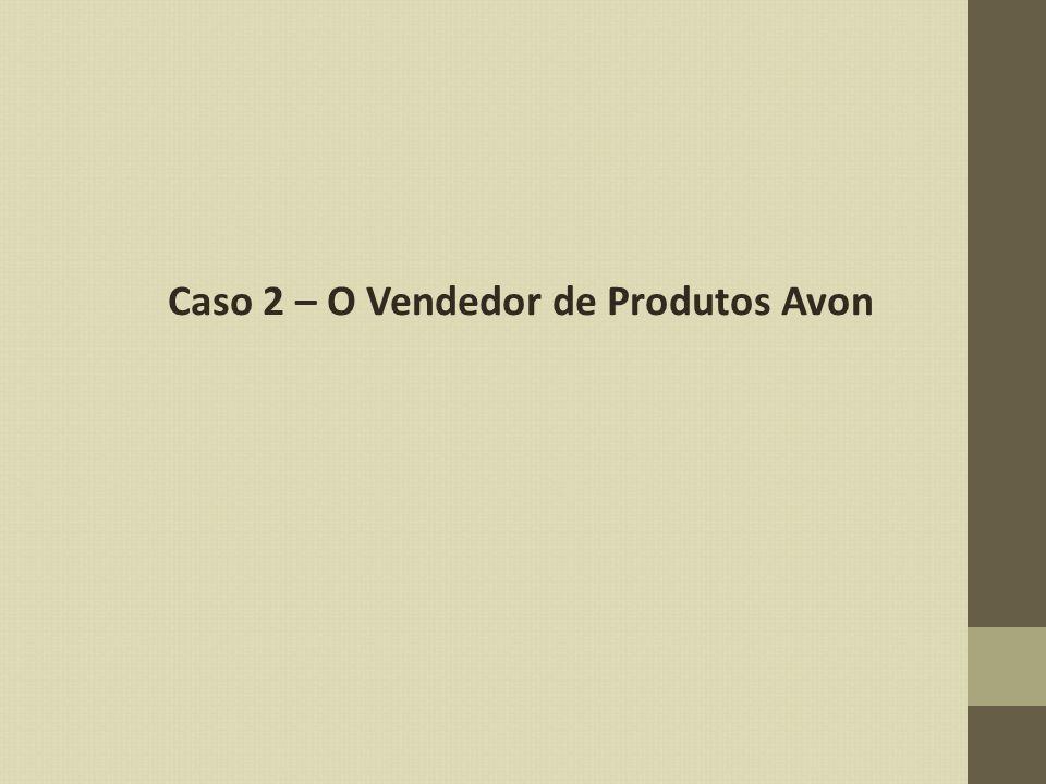 Caso 2 – O Vendedor de Produtos Avon