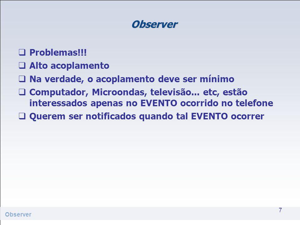 Observer Solução??.