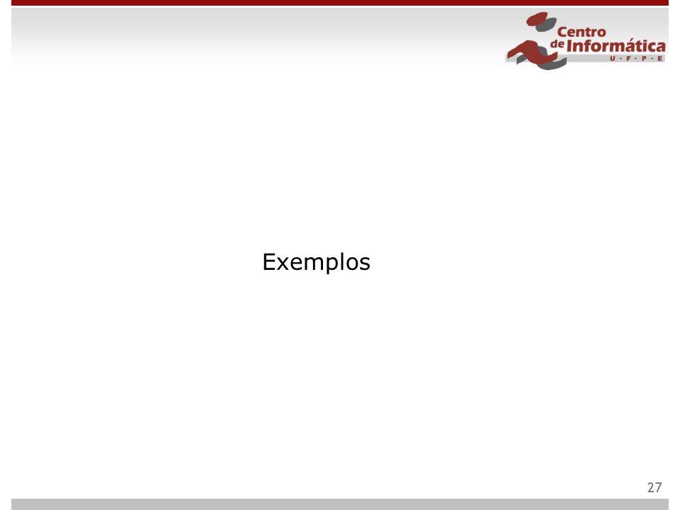 Exemplos 27