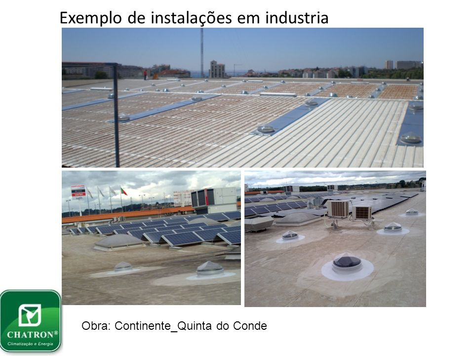 Instalação em edifício comercial Obra: Comércio em Vale de Cambra