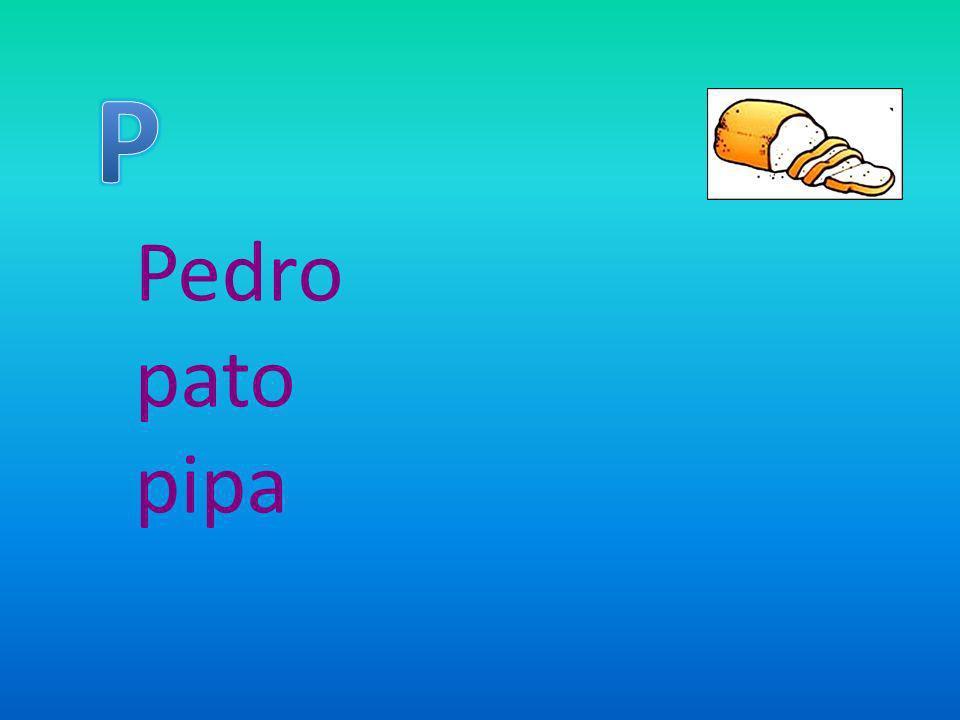 Pedro pato pipa