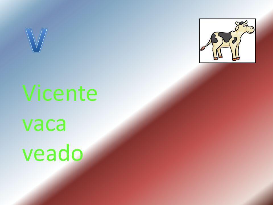 Vicente vaca veado