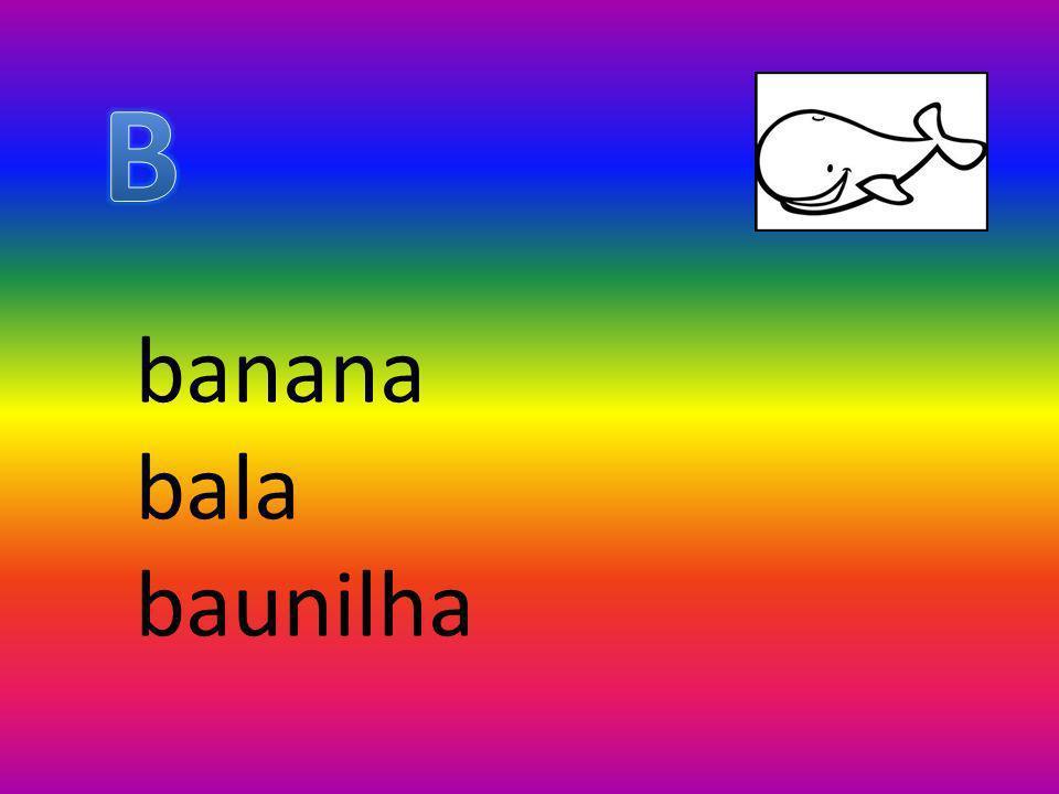 banana bala baunilha