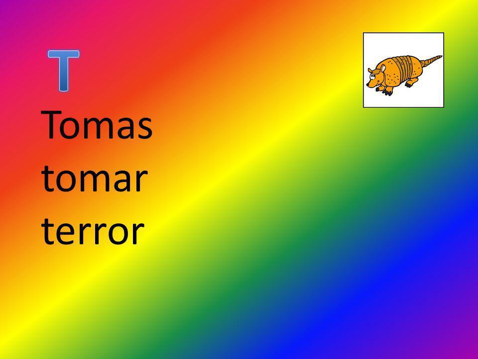 Tomas tomar terror