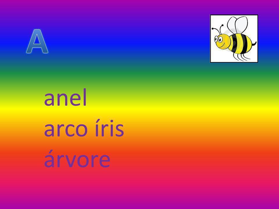 anel arco íris árvore