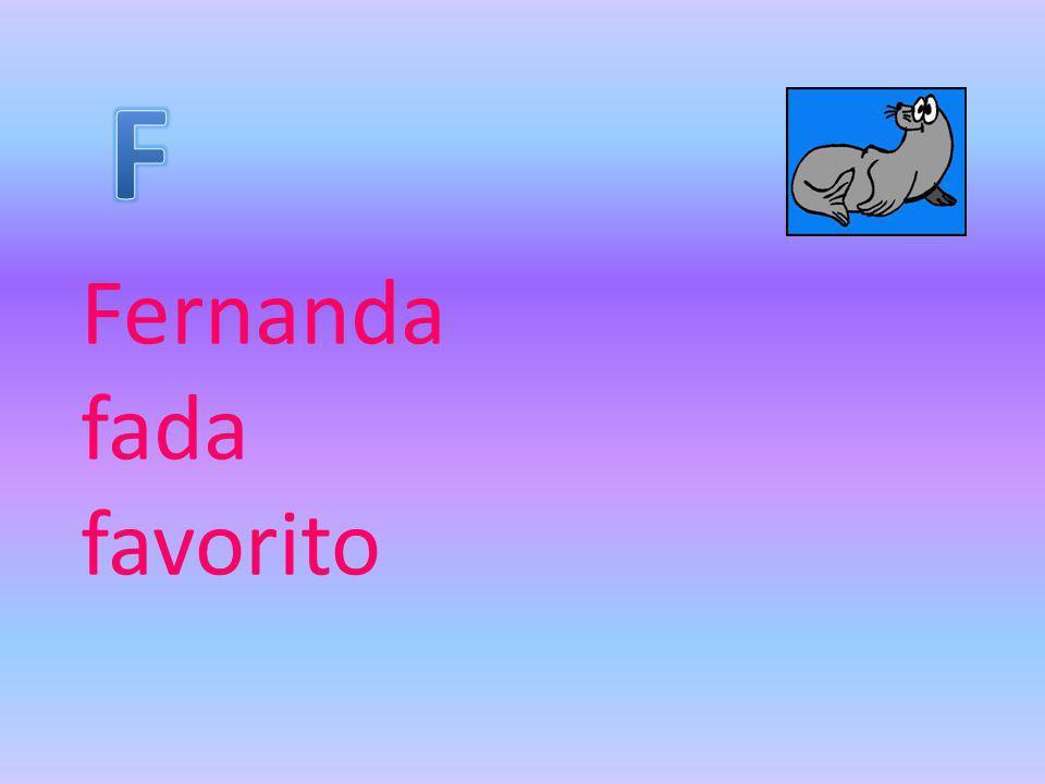 Fernanda fada favorito
