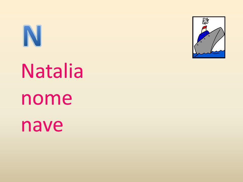 Natalia nome nave