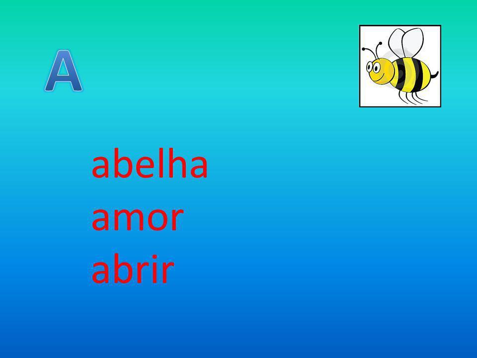 abelha amor abrir