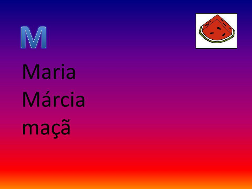 Maria Márcia maçã