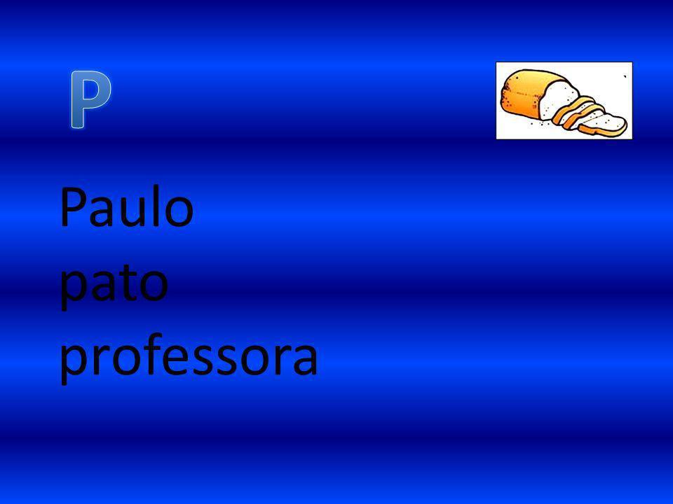 Paulo pato professora